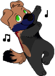 Badger iddy biddy dancy doggy jd (Gift+Base used) by YukiAlecCross28
