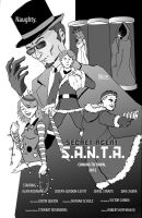 Secret Agent S.A.N.T.A. poster by Vic-Perfecto