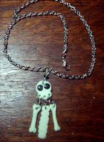 glowITD skeleton necklace by Hanachi-bj