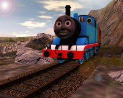 Thomas on Aresdale End by DarthAssassin
