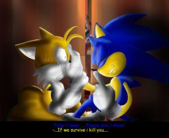 Sonic- Feel like a Amnesia (?) : The dark decent 2 by Assassins-C