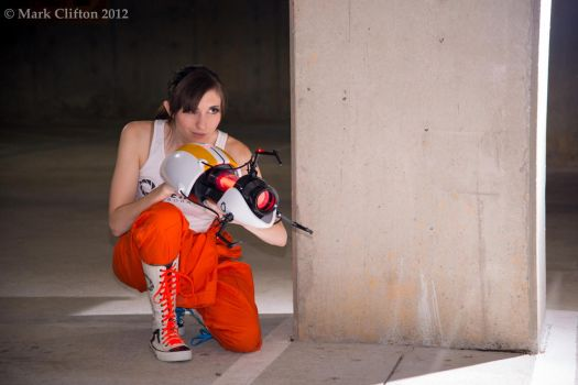 Chell Cosplay AWA1 by des-igner