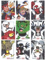 Marvel Universe Sketchcards 04 by thecheckeredman