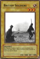 British Soldiers card by Mexicano27
