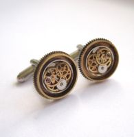 Cufflinks Model Thirty Two by AMechanicalMind
