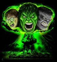 Hulk Trifecta final by lxixska