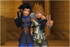 Ventus and Zack by yellalix