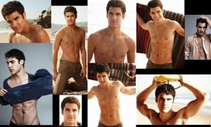 Darren Criss SHIRTLESS collage by slayerxy