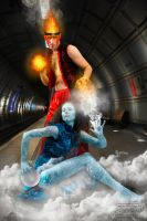 Fire and Ice by DD28