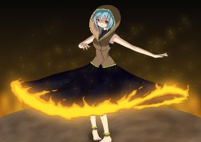 Dance with fire by yukisasara