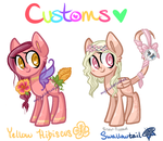 My Little Customs - Laurel3aby Customs! by MyLilAdoptables