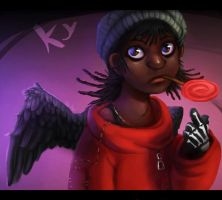 Ky the Reaper by Pheoniic
