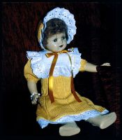 Old-fashioned doll's dress by ToveAnita