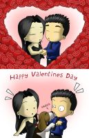 BiLY Cards - Valentineses by CGVickers