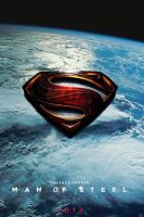 Man of Steel logo teaser poster by DComp