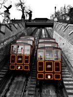Castle Hill Trolly Budapest by jmotes