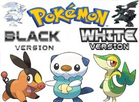 Pokemon Black and White by awesomeadam15