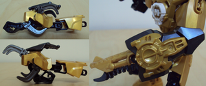 MoC Rocka X.0 Mark II, weapon details by HaroldPotter