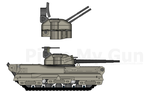 Huwkell ind. MA-5/SPAA-5 by Maverick1313