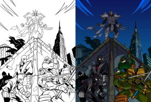 TMNT: Season 1 Pt 2 DVD Cover Colors by Nexxorcist