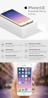 iPhone 6s Photorealistic Mockups 10 PSD by theanthnonyrich