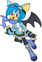 Commission: Skylia The Bat by Tangerinna