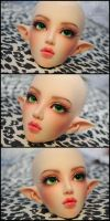 Face-up: Fairyland Feeple65 Chloe Elf by asainemuri