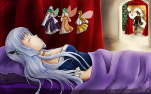 Aether's Sleeping Beauty by lainey-nesu