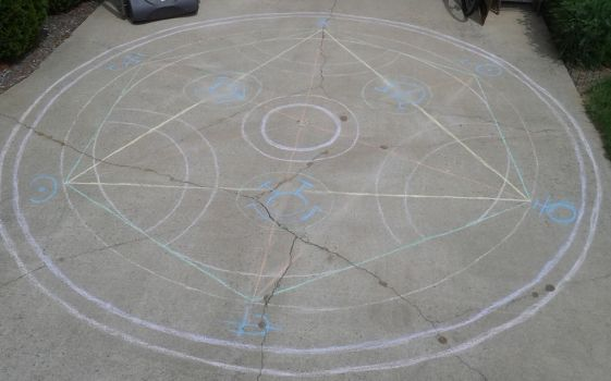 Transmutation Circle WIP by Endeavor4ever