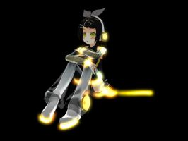 [MMD] Append Rui Glows! by Ginger-Hill