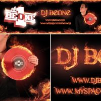 Big Fire DJ Banner by homeaffairs