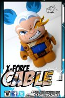 X Force Cable Vinylmation by F1shcustoms