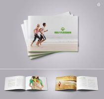 Personal Trainer Brochure by DOMDESIGN