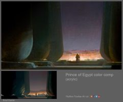 Prince of Egypt Color Comp by NathanFowkesArt