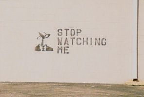 Stop Watching Me by papuruikazuchi