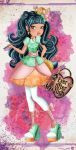 Nixie .: Ever After High oc:. by Airinreika