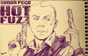 :sketch: Hot Fuzz by gus-kitagawa