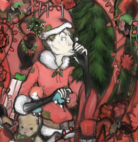 Have a Merry Scary Christmas by Frankenfrau