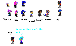 kay's family sprite collection by 100hypersonic