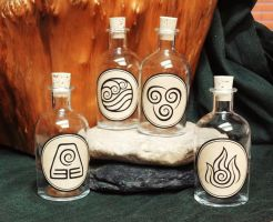 Avatar Bottle Set by Spoon333