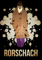Rorschach Minimalism by skellerone