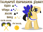 The Honorable Tanhepui Reference Sheet by equinepalette