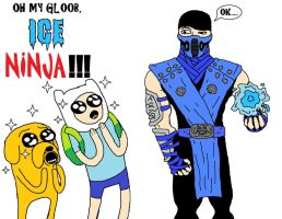 Oh my Gloob, ICE NINJA by chaos-neverthrive