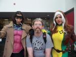 Miracole and Chris Burns as Rogue and Gambit by BauerPower24777