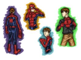 Spidey Sketches by nursury0