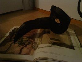 Plague Doctor mask by FairyDandy