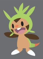 Chespin by jomzypuff