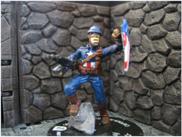 Captain America WWII by DrDoSoLittle