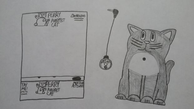 Perry the purr-fect cat by Gemmygod