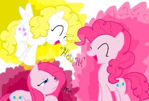 Pinkie Pies by cupcakecat123123